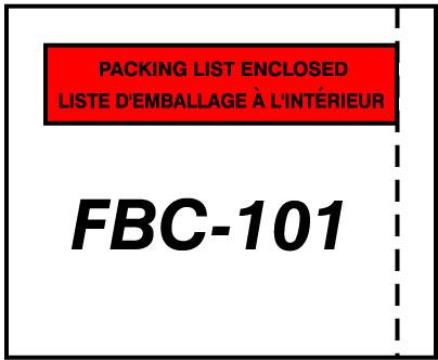 packing list model